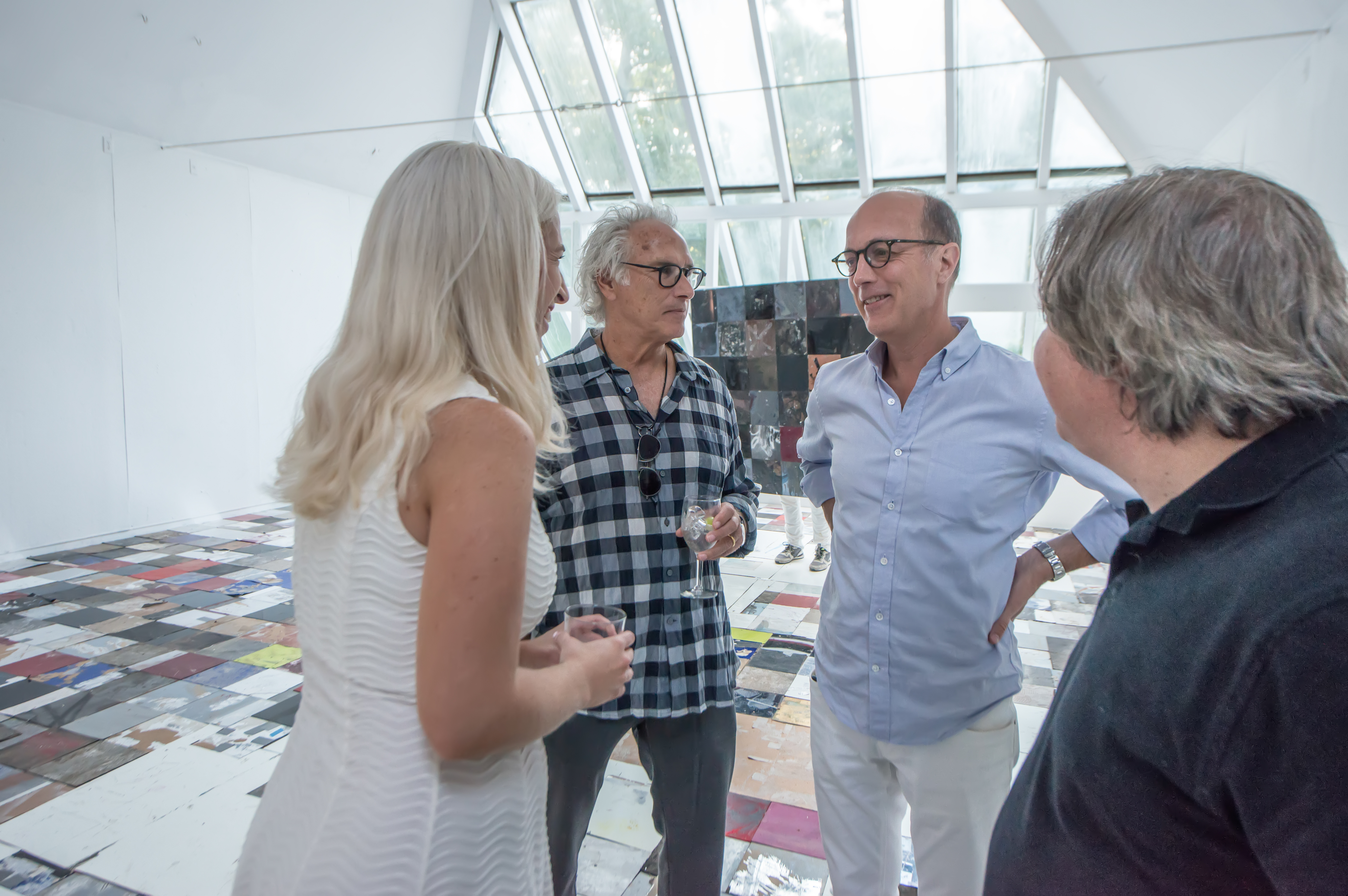 Rosa Langley, Eric Fischl, Per Skarstedt, George Condo