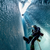 Deep Into Greenland's Glacial Ice Caves