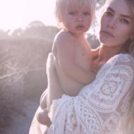 Model, Mom and Designer, Tori Praver