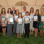 2018 Illumination Award Honorees - Robert Covalito, Noelle Marcantonio, Amanda Merrow, Jim Amaden, Beth Doyle, Kyla Cerullo, Shawn Smith, Christo