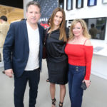 Cristina Cuomo & Guests at the Purist Issue Party with Tesla