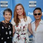 Jennie Polk, Amanda Polk, and celebrity facialist Thuyen Nguyen