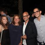 Actors Fund COO Barbara Davis (third from left) with husband Tim Davis, Victoria Fuentes, Moises Esquenazi, Chris Melendez and Monica Fuentes