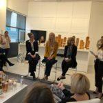 Panelists Natasha Silver Bell, Chris Mack, Patrica Aussem & Cristina Cuomo