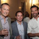 Simon Sutton, Don Sutton and Sylvain Bazinet