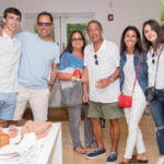 Guests at the Intermix East Hampton 10th Anniversary Party