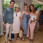 Guests & Cristina Cuomo at the Intermix East Hampton 10th Anniversary Party