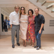 Peter Pilotto and Christopher de Vos Shopping Event / Q&A with Alina Cho