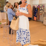 Guest at the Peter Pilotto Southampton Pop-Up