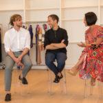Christopher de Vos, Peter Pilotto & Alina Cho