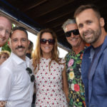 Chris Scarpati, Cristina Cuomo, TR Pescod & Guests at Sunset on the Harbor