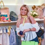 Shopper at the Sam Edelman Shopping Party