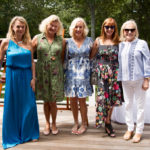 Debbie Bancroft & Guests & Ann Barish at the UNOde50 Luncheon