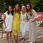 Shrankhla Holecek, Cristina Cuomo, Candace Bushnell & Brooke Shields