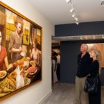 "Guests Marvel at ""Kiss & Tell"" Opening Reception at RJD Gallery"