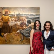 "PURIST Hosts The Opening of ""Kiss And Tell"" at RJD Gallery Bridgehampton"