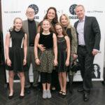 Michael Errico, Patrick McEnroe, Melissa Errico & children