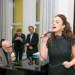 Melissa Errico performs for guests