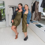 Shoppers at the Purist + Nili Lotan Party