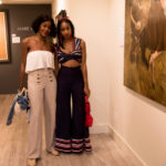 "Guests at ""Kiss & Tell"" Opening Reception at RJD Gallery"