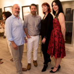 "Guests & Artists at ""Kiss & Tell"" Opening Reception at RJD Gallery"