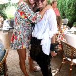 Kelly Bensimon & Donna Karan