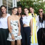 Melissa Berger, Gally Mayer, Stefania De Felice, Gabby Karan De Felice, Celia Babini, Bonnie Young, Donna Karan, Olivia Berger