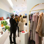 Guests shopping at the Purist + Olivela Shopping Party