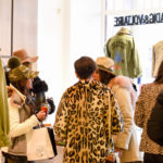 Guests at the Zadig & Voltaire Apres Ski Event with The Purist