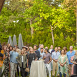 Guests Watch Jeff Leblanc Perform at the Purist Summer Kick Off Party