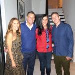 Christina Cuomo, Chris Cuomo, Antonella Bertello & Guest