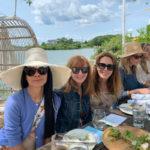 Helen Schifter, Nicole Miller & Cristina Cuomo