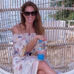Cristina Cuomo with her favorite Casa Dragones tequila