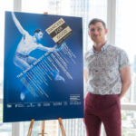 2019 Dancers For Good poster dancer Quinton Guthier of Carolyn Doorman Dance Company