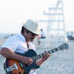 Marcello of Ludmilla Brazil plays the Spanish Guitar