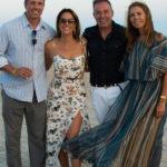 Chris Cuomo, Cristina Cuomo, Massimo Caronna & Natasha Caronna