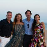 Massimo Caronna, Natasha Caronna, Ren Grady & Olivia Chantecaille