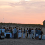 Guests at the Purist & Cucinelli Cookout at Atlantic Beach