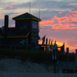 Sunset at the Purist & Cucinelli Cookout at Atlantic Beach