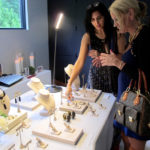 Guests shop AnaKatarina sustainable luxury jewelry
