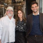 Chef Tom Schaudel, Cristina Cuomo & Steven Dubb